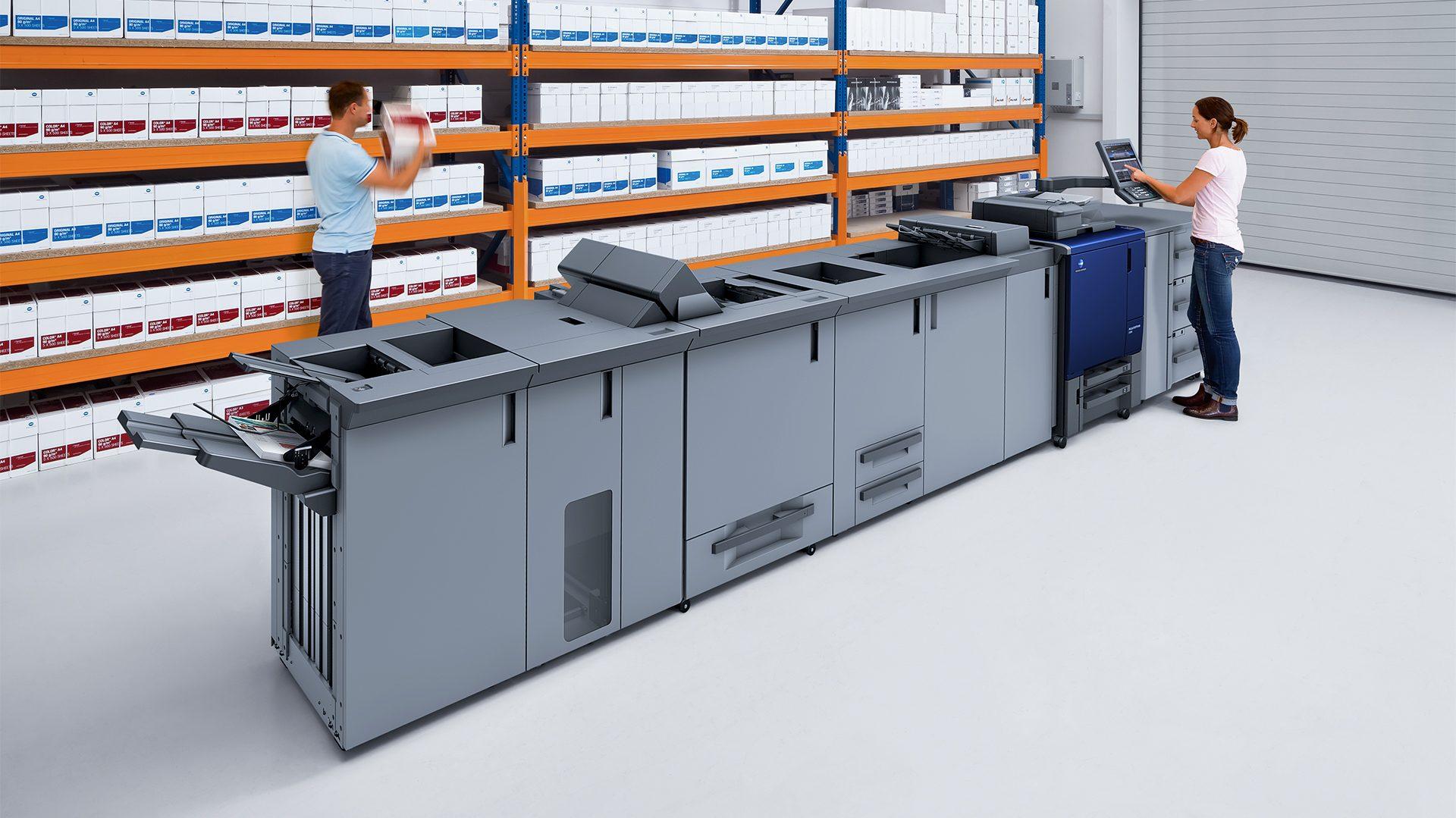 macchina da stampa medium level C3080
