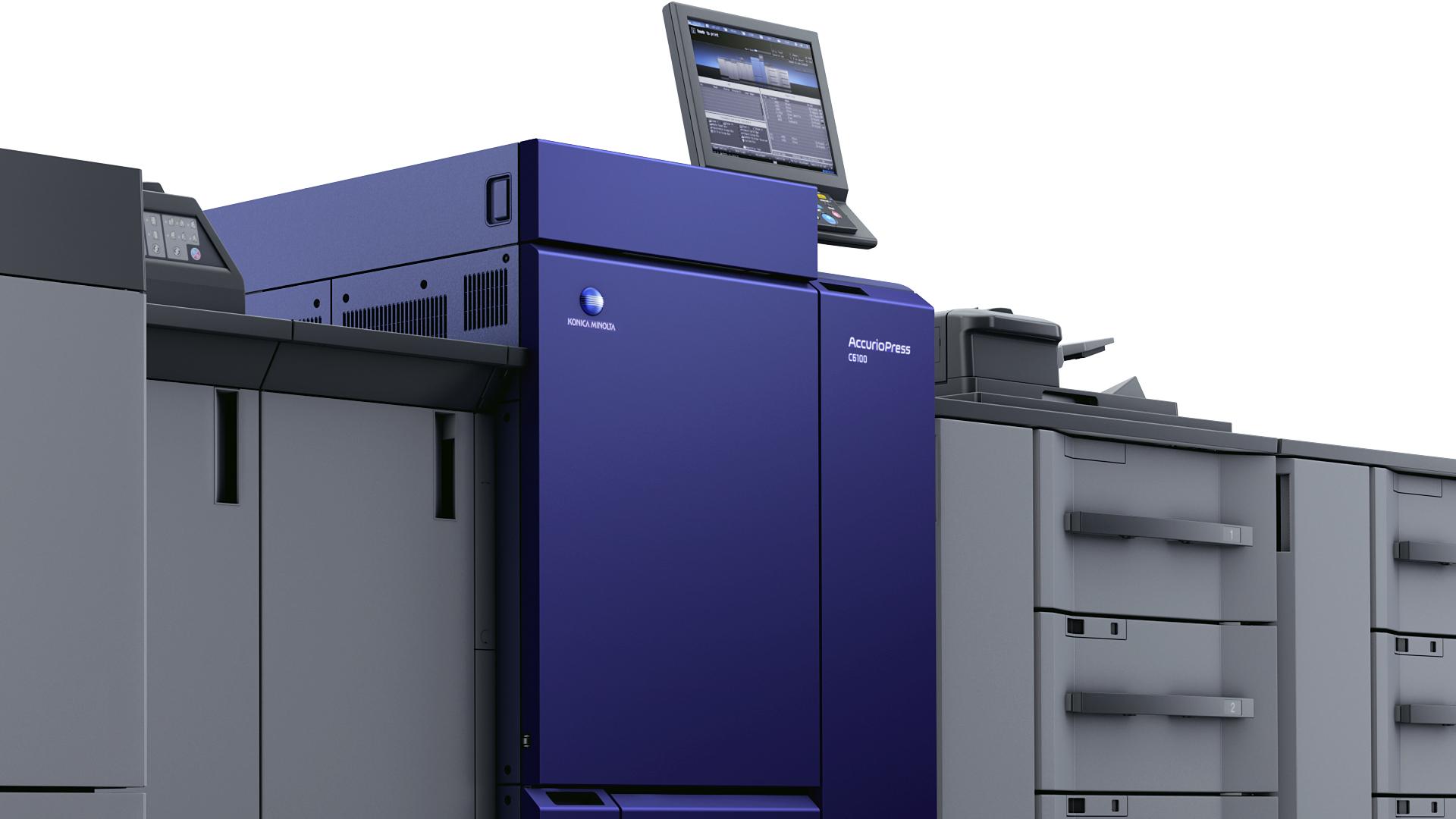 macchina da stampa high volume